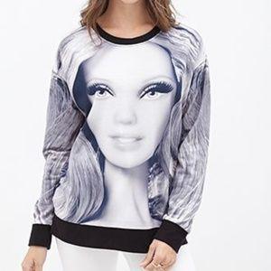8dc8456044d Women s Barbie Sweater Forever 21 on Poshmark
